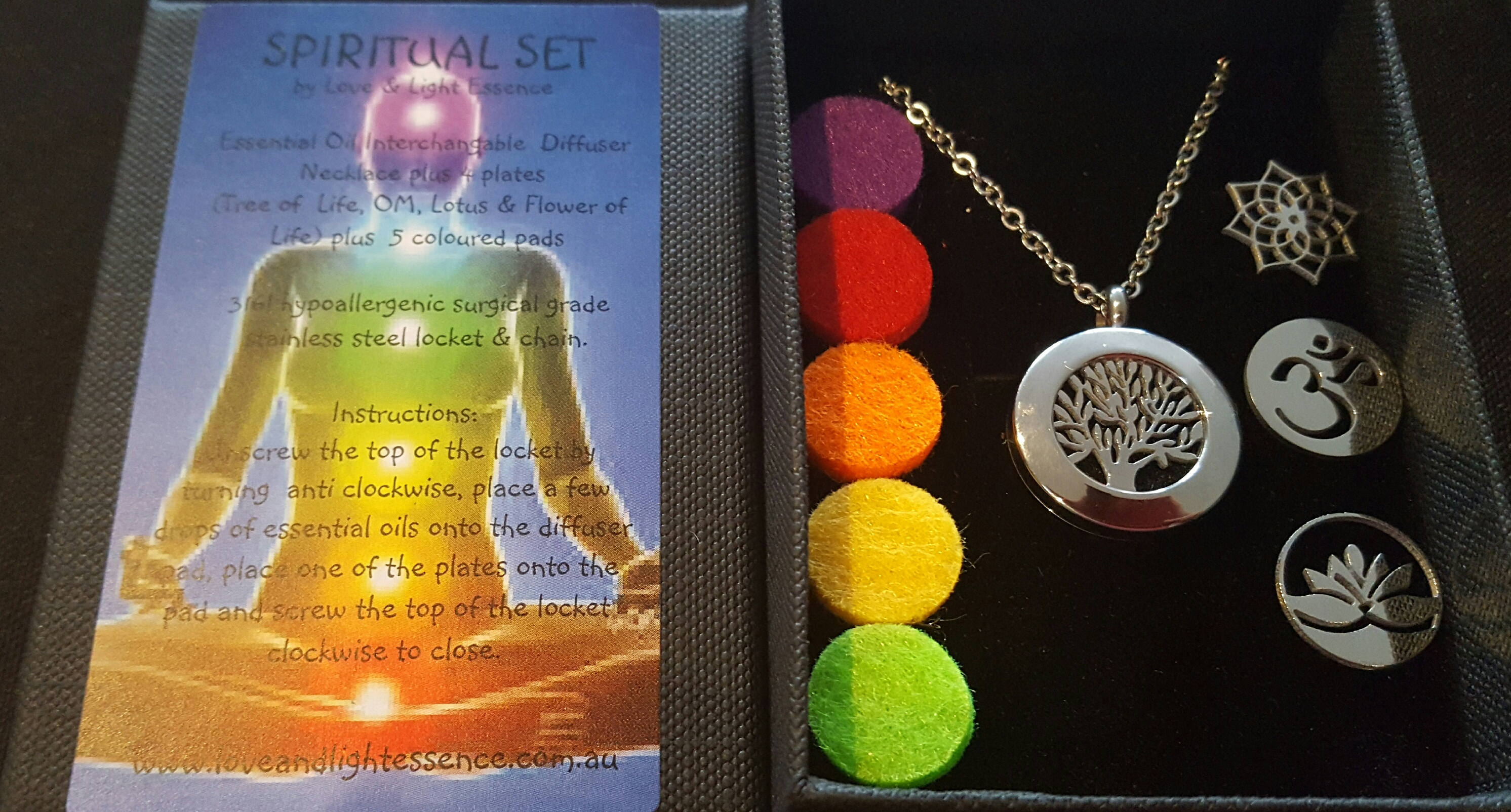 spiritual of with life herkimer and orgone pendant moldavite flower