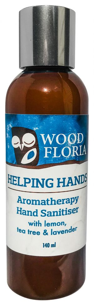 Helping Hands - Aromatherapy Hand Sanitiser (140ml) woodfloria.com.au shop